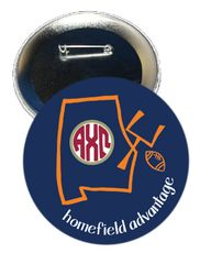 Alpha Chi Omega Auburn Homefield Advantage Gameday Button