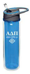 Alpha Delta Pi Plastic Water Bottle