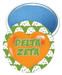 Delta Zeta Heart Mirror