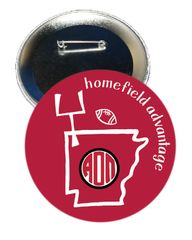 Alpha Omicron Pi Arkansas Homefield Advantage Gameday Button