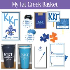 My Fat Greek Basket • Kappa Kappa Gamma