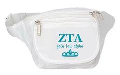 Zeta Tau Alpha Fanny Pack - Logo
