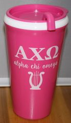 Alpha Chi Omega Coffee Tumbler