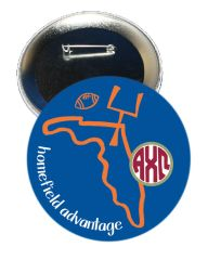 Alpha Chi Omega Florida Homefield Advantage Gameday Button