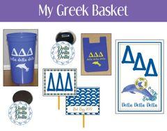 My Greek Basket • Delta Delta Delta