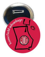 Alpha Omicron Pi Georgia Homefield Advantage Gameday Button