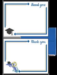 Delta Delta Delta Graduation Postcards