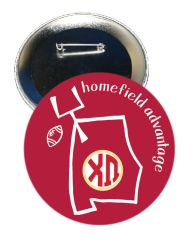 Chi Omega Alabama Homefield Advantage Gameday Button