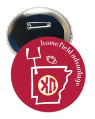 Chi Omega Arkansas Homefield Advantage Gameday Button