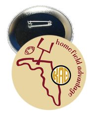 Kappa Alpha Theta FSU Homefield Advantage Gameday Button