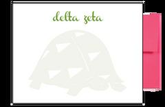 Delta Zeta Background Postcards