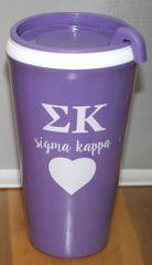 Sigma Kappa Coffee Tumbler