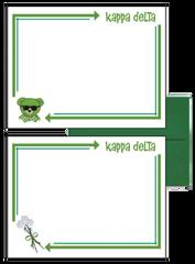 Kappa Delta Arrow Postcards