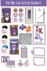 My Big Fat Greek Basket • Sigma Kappa