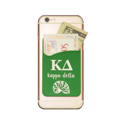 Kappa Delta Cell Phone Pocket - Dark Green