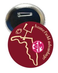 Phi Mu FSU Homefield Advantage Gameday Button