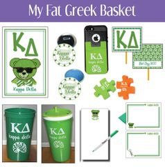 My Fat Greek Basket • Kappa Delta