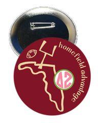 Delta Zeta FSU Homefield Advantage Gameday Button