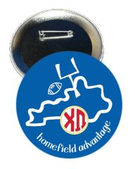 Chi Omega Kentucky Homefield Advantage Gameday Button