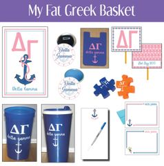 My Fat Greek Basket • Delta Gamma