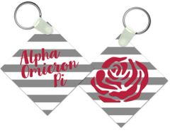 Alpha Omicron Pi Key Chain