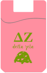 Delta Zeta Cell Phone Pocket - Pink