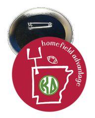 Kappa Delta Arkansas Homefield Advantage Gameday Button