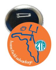 Zeta Tau Alpha Florida Homefield Advantage Gameday Button