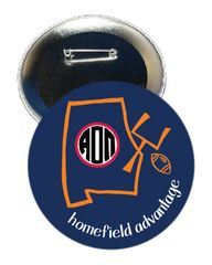 Alpha Omicron Pi Auburn Homefield Advantage Gameday Button