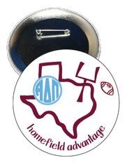Alpha Delta Pi Texas A&M Homefield Advantage Gameday Button