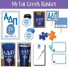 My Fat Greek Basket • Alpha Delta Pi