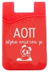 Alpha Omicron Pi Cell Phone Pocket