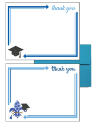 Kappa Kappa Gamma Graduation Postcards