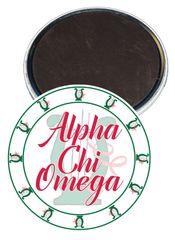 Alpha Chi Omega Sorority Magnet
