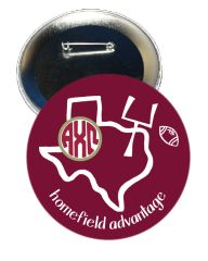 Alpha Chi Omega Texas A&M Homefield Advantage Gameday Button
