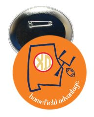 Chi Omega Auburn Homefield Advantage Gameday Button