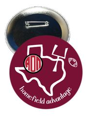 Alpha Omicron Pi Texas A&M Homefield Advantage Gameday Button