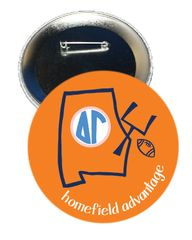 Delta Gamma Auburn Homefield Advantage Gameday Button