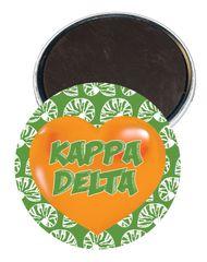 Kappa Delta Heart Magnet