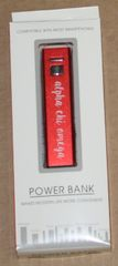 Alpha Chi Omega Portable Charger