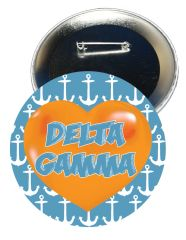 Delta Gamma Heart Button