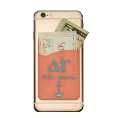 Delta Gamma Cell Phone Pocket - Pink