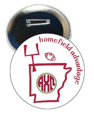 Alpha Chi Omega Arkansas Homefield Advantage Gameday Button