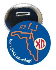Chi Omega Florida Homefield Advantage Gameday Button