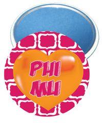 Phi Mu Heart Mirror