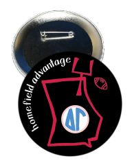 Delta Gamma Georgia Homefield Advantage Gameday Button