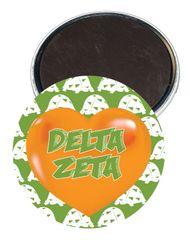 Delta Zeta Heart Magnet