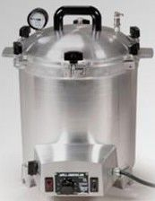 All American 25 Quart Electric Sterilizer Model # 50X