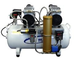 MaxAir Model 140-8 OilLess Dental Air Compressor