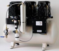 JLC 32 Triple Head Lubricated Dental Air Compressor (JDS)